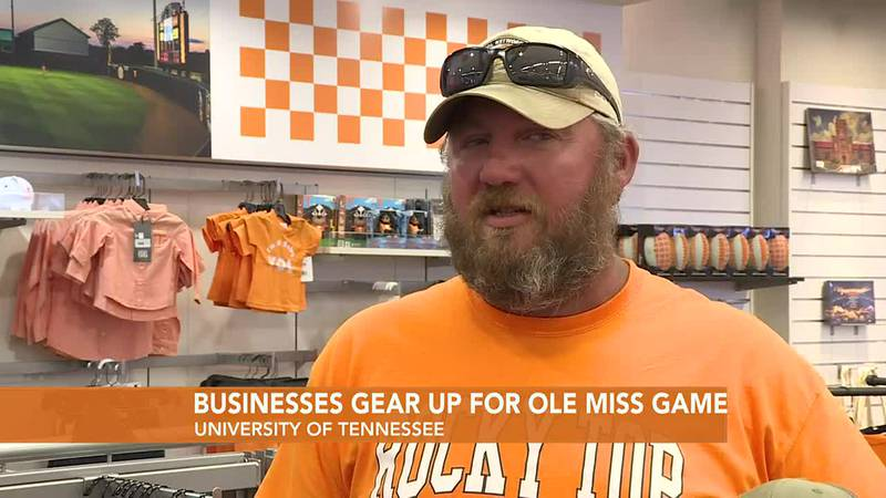 Businesses near University of Tennessee excited for sold-out football game