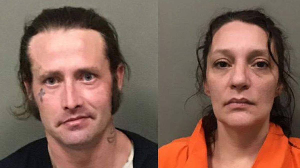 William McCloud and Angela Boswell (Source: WILKES COUNTY SHERIFF'S OFFICE)