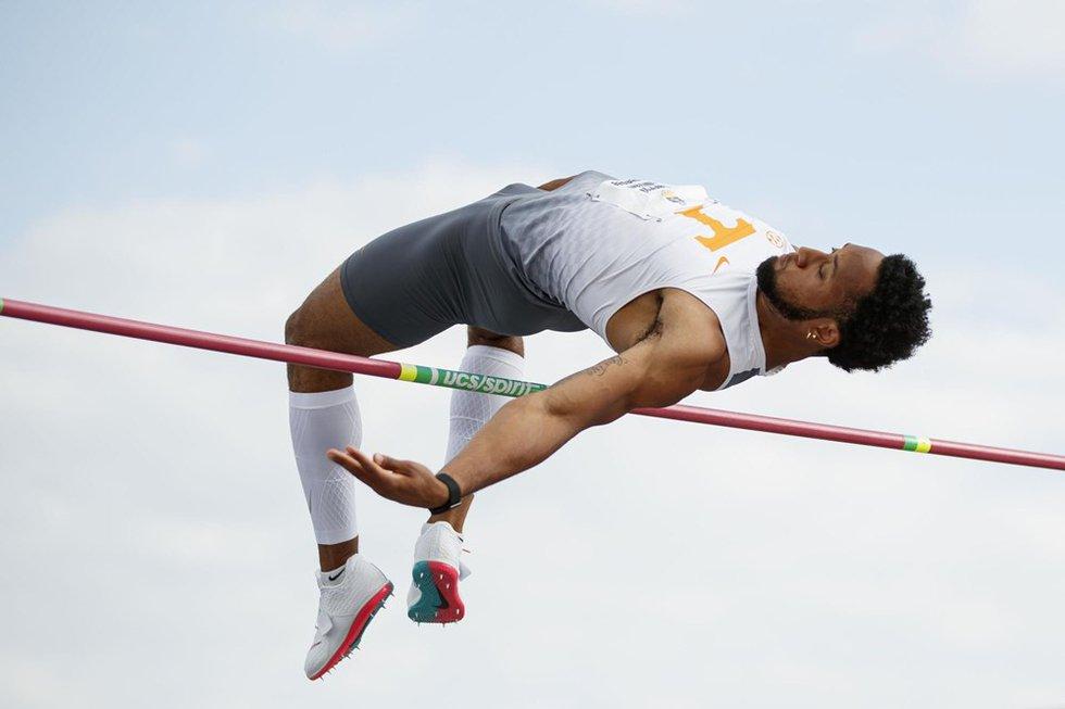 UT Track and Field jumper Darryl Sullivan