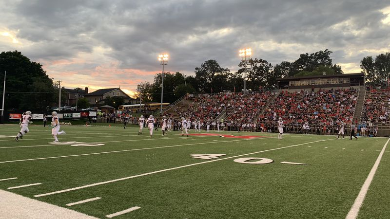 Alcoa at Maryville for the teams' 92nd meeting