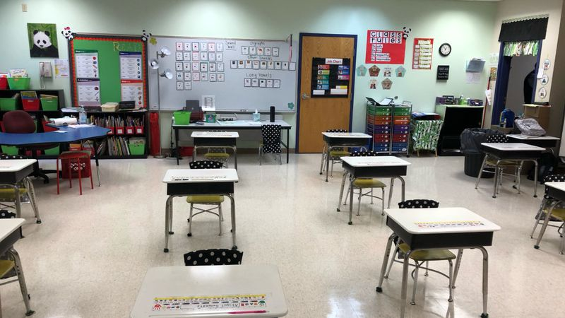 Schools are taking fall break as a time for extra cleanings