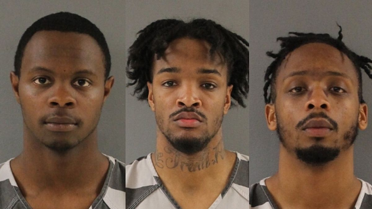 Christopher Bassett Jr., (L) Kipling Colbert Jr., and Richard Willaims (R) were convicted in the murder of Zaevion Dobson. / Source: (Knox County Sheriff's Office)