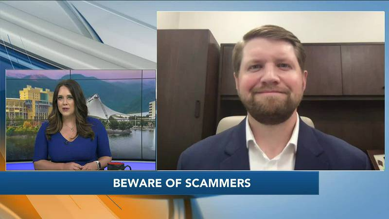 John Vandergriff with Blue Ridge Wealth Planners has advice on staying away from scams