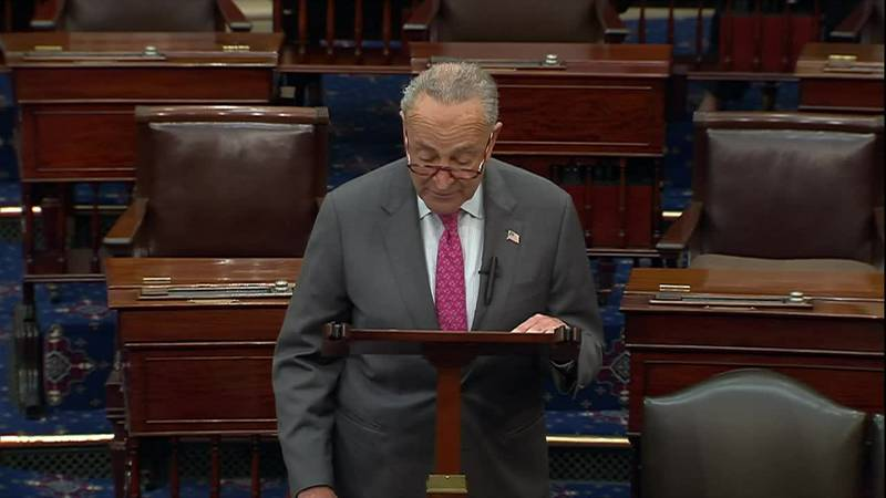"""Sen. Chuck Schumer on Medals of Honor for Jan. 6 responders: """"It is the highest expression of..."""