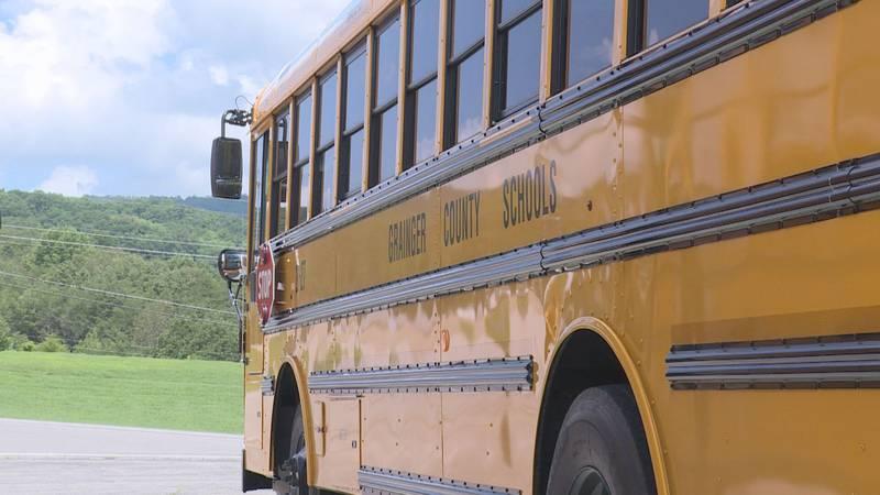 Grainger County Schools bus