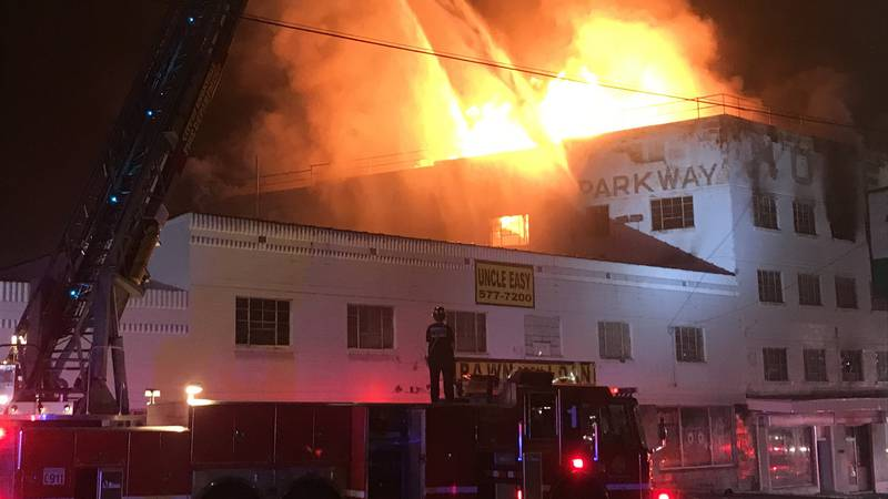 No one injured as Knoxville Fire crews fight motel fire along Chapman Highway.