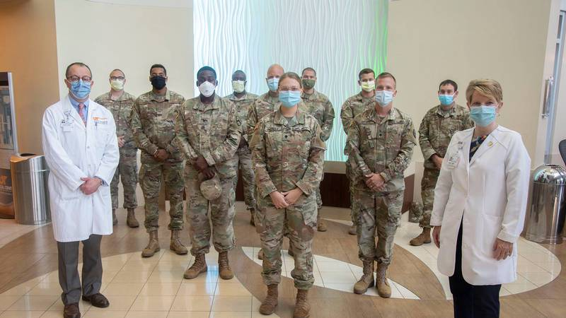 University of Tennessee Medical Center calls in help from National Guard
