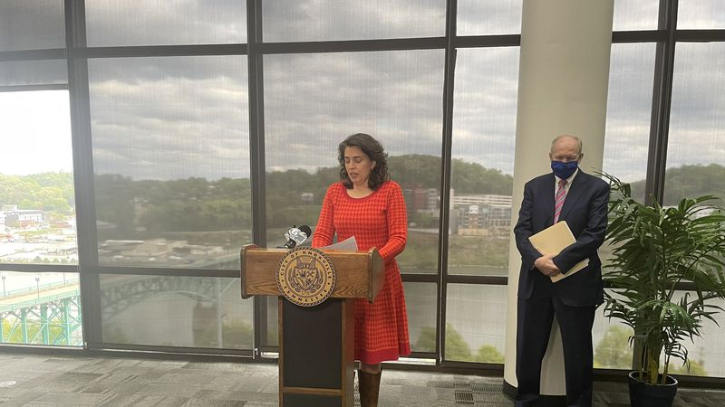 Mayor Indya Kincannon holds press conference after Austin-East shooting body cam footage is...