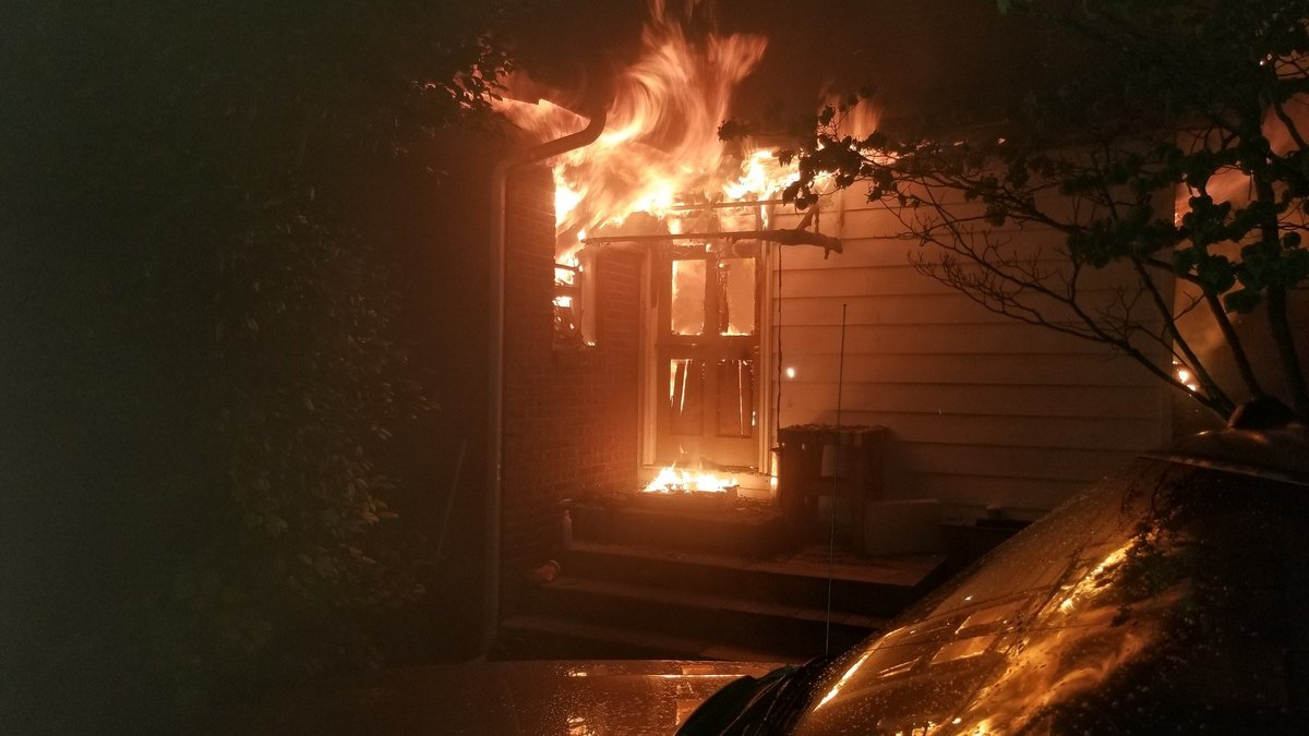 Firefighters were called to a house fire at 1:30 a.m. Thursday morning in the 700 block of Oak...