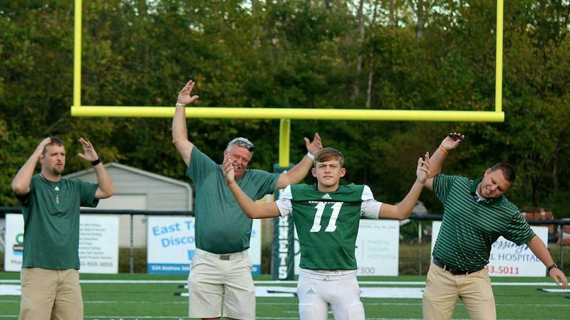 A family line of QB's at Carter High School in Knox County