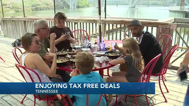 Tax free weekend in Tennessee