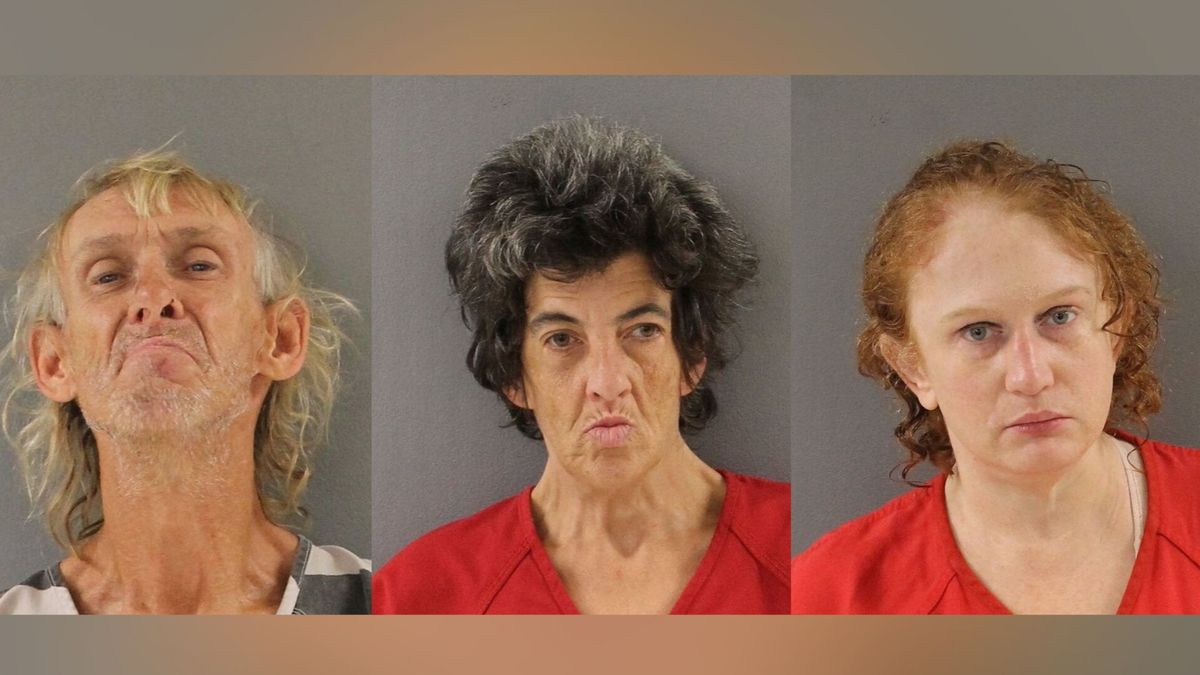 Tommy Rose, 62, (L) and Christina McCormack, 48, are accused of abuse of a corpse, tampering with evidence and failing to call 911 along with Deborah Gister, 41, (R)  / Source: (Knox County Sheriff's Office)