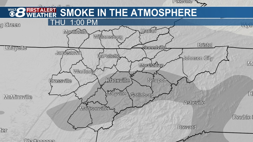 More smoke this afternoon