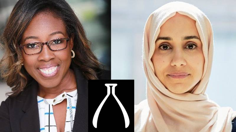 2021 LCRF Disparities Award Grantees Dr. Loretta Erhunmwunsee and Dr. Mariam Jamal-Hanjani