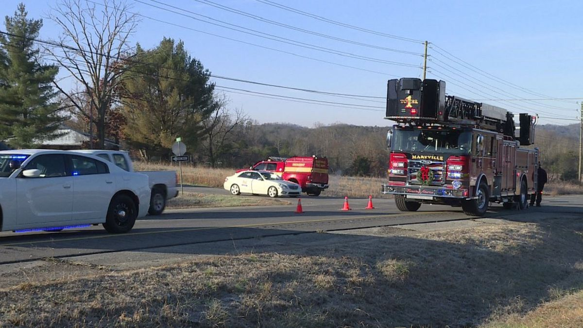 At least one person is dead after a fatal crash in Maryville / Source: (WVLT)