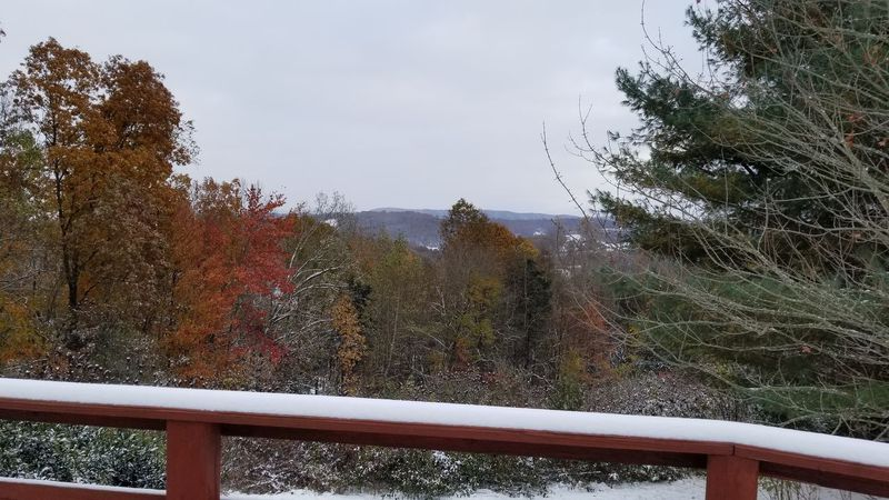 Snow over New Tazewell, TN in November of 2019