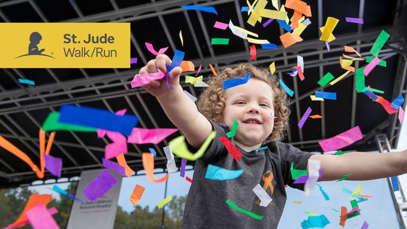 St. Jude Walk/Run is virtual this year.