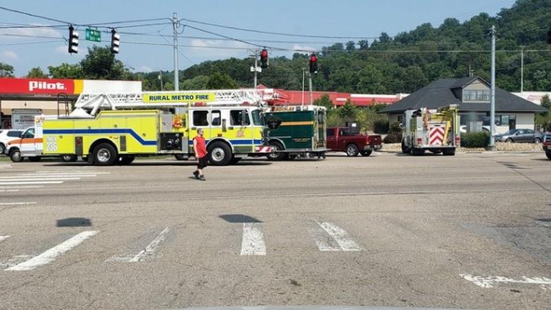 Crash near Maynardville Rd