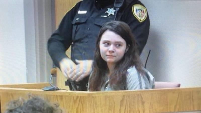 Megan Boswell appears in court / (WVLT)