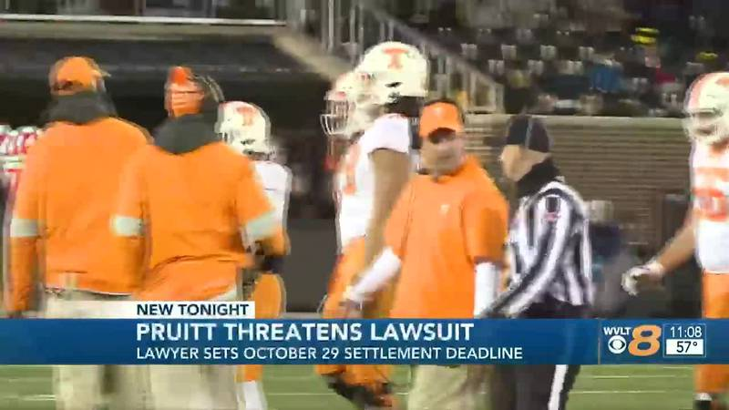The lawyer for former University of Tennessee football coach, Jeremy Pruitt, gave the...