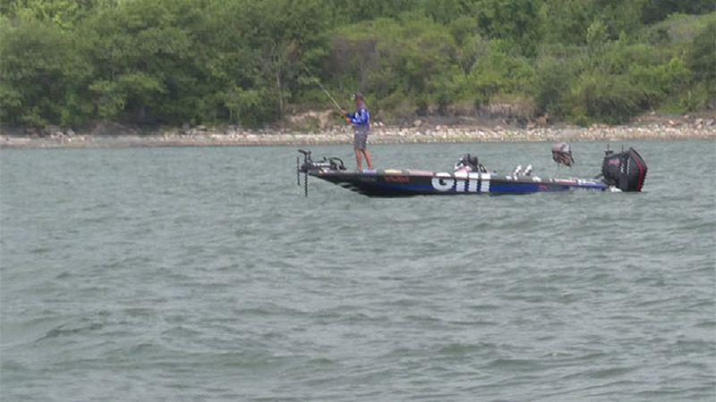 The 13th Bassmaster Elite Fishing Tournament opened on Lake Champlain Thursday.