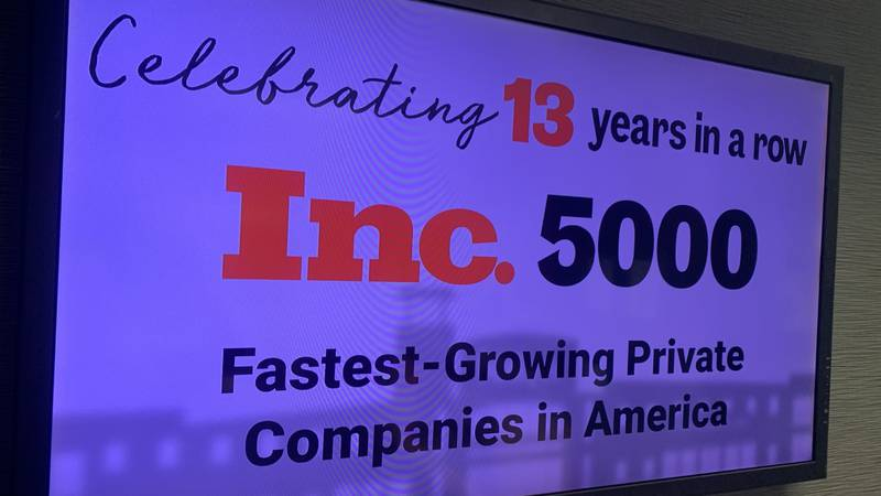 KaTom in Kodak celebrated 13 years of being named one of the fastest growing companies.