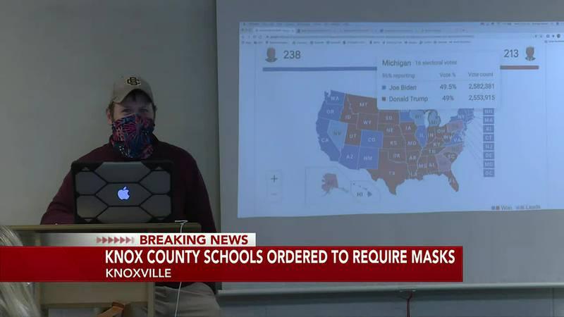 Judge orders mask mandate
