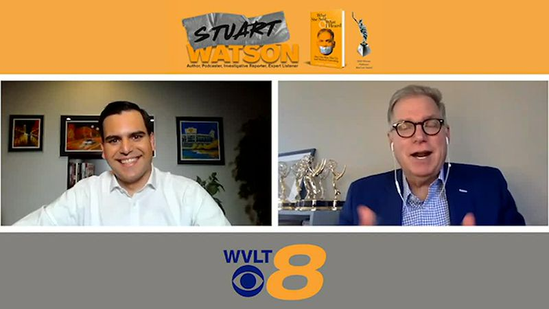 """Stuart Watson, author of """"What She Said & What I Heard"""" sits down with WVLT News This Morning..."""