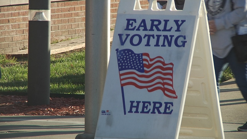 Residents can cast their early vote starting October 14th.