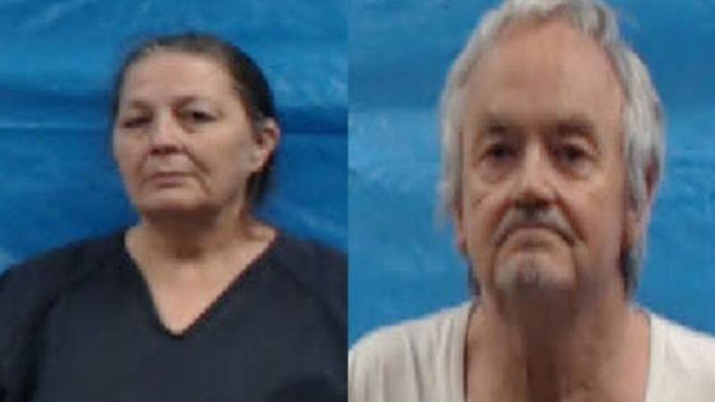 Shirley Gray,60 (left) and  Michael Anthony Gray, Sr., 63 (right) / Source: Roane County Jail
