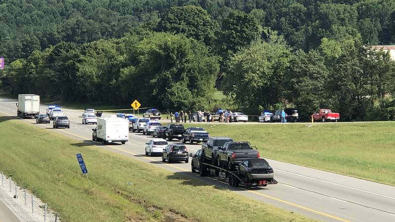 Officers responded to an officer-involved shooting in Cumberland County near Crab Orchard.