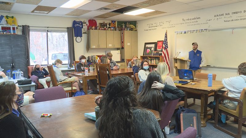 Students discuss Capitol Hill Chaos