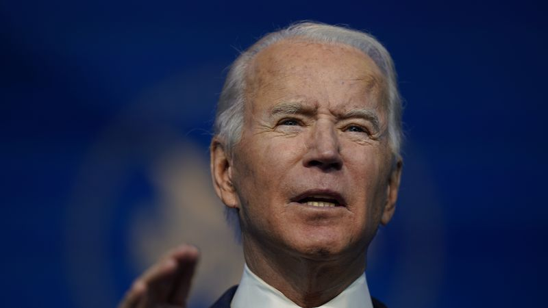 President-elect Joe Biden announces his climate and energy nominees and appointees at The Queen...
