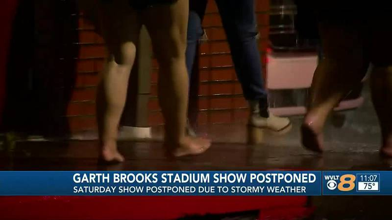 Garth Brooks concert postponed at Nissan Stadium