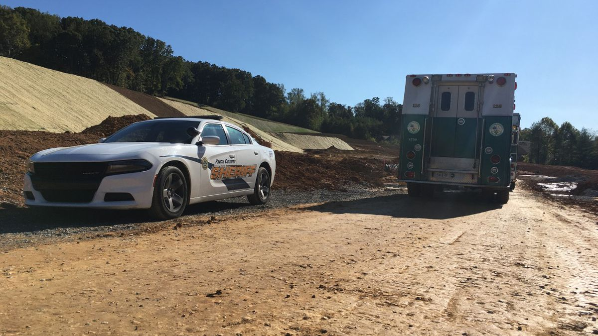 One man was pulled from a trench after it collapsed on the lower half of his body at a West Knox County construction site. / Source: (WVLT)