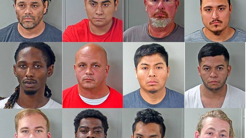 12 arrested for human trafficking