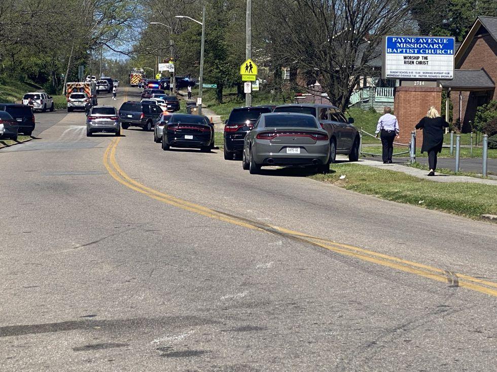 Multiple gunshot victims including Knoxville police officer at Austin-East High School - WVLT.TV