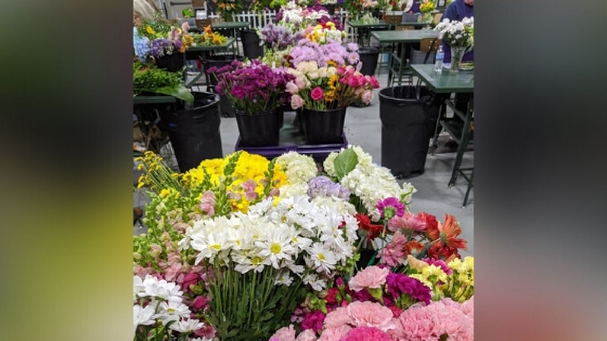 Random Acts of Flowers said their workshop was filled with blooms / Source: (RAF)