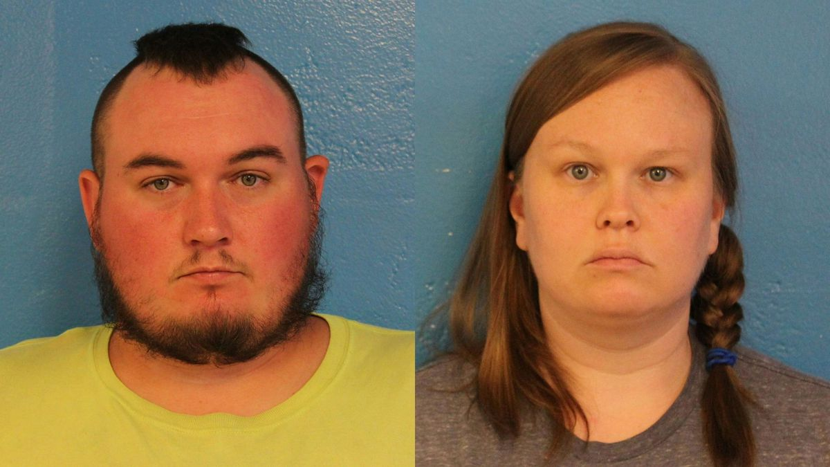 The couple was charged with two counts of aggravated child abuse, according to officials.