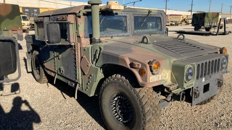 FBI investigating Humvee stolen from California military facility