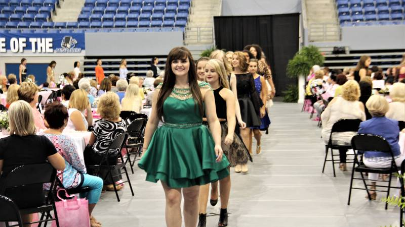 Lincoln Memorial University's Women of Service organziation holds fashion show to raise money...