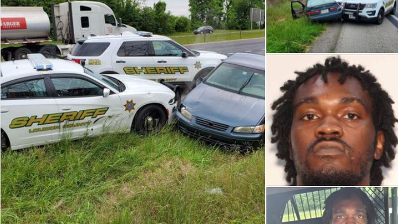 Dionta Tyrell Arnold out of Conley, GA led officers on a chase on I-75 before being stopped and...