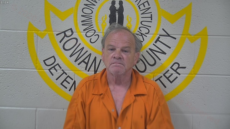 Marty Horton was arrested for using racial slurs at black lives matter event in Morehead.