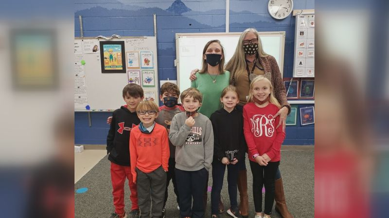 """Students worked on a claymation project combining two themes from the """"Be You"""" book"""