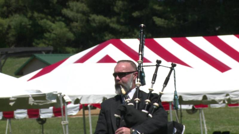 Bagpipers at Smoky Mountain Scottish Festival & Games to gather May 15 weekend in Maryville.