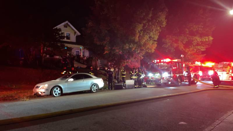 KFD responded to a house fire on Linden Avenue