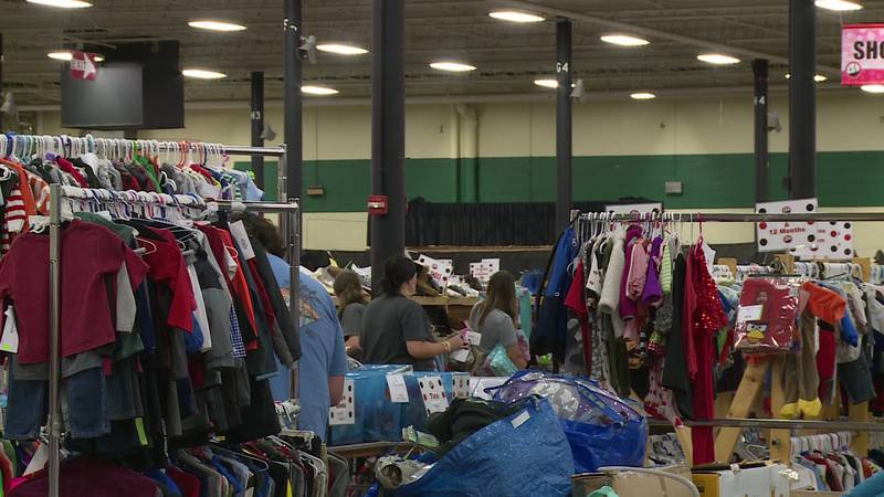 Huge consignment sale happening at Knoxville Expo Center.
