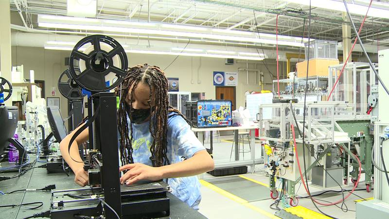 East Tennessee teens get the chance to learn valuable skills while getting paid a summer camp.