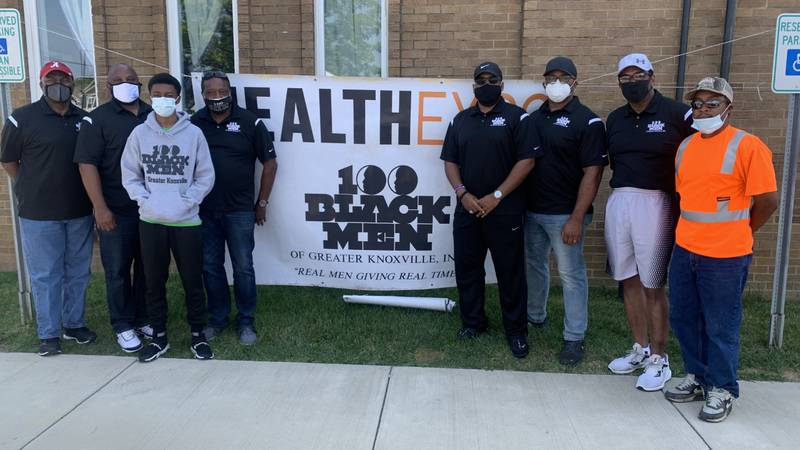100 Black Men of Knoxville volunteer to offer information, free COVID-19 vaccinations...