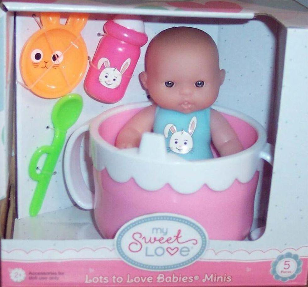 My Sweet Love Lots of Love Babies Minis. Potential choking hazard. Manufacturer or Distributor:...